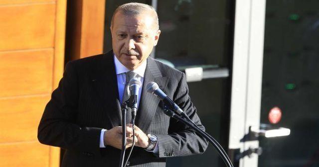 Cumhurbaşkanı Erdoğan'dan Almanya mesajı
