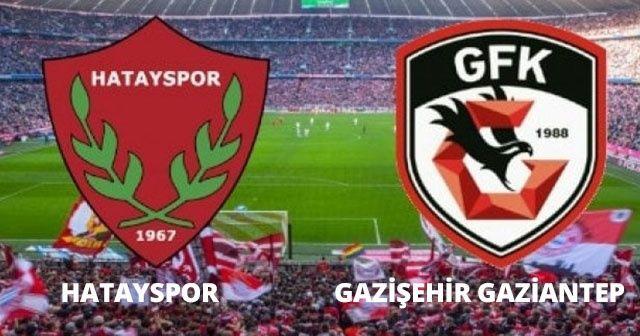 Hatayspor Gazişehir Gaziantep Maçı Canlı İzle! Hatayspor Gazişehir Gaziantep maçı Canlı Skor Kaç Kaç? Beinsports Max 1 canlı izle