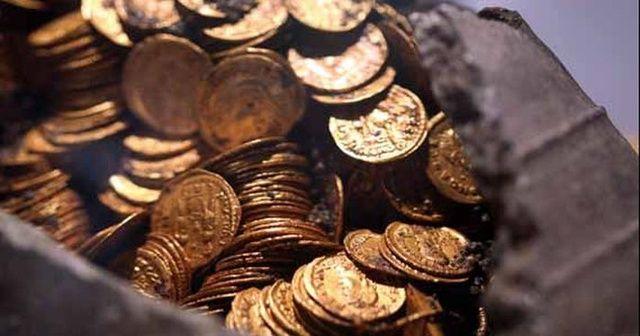 İtalya'da Roma döneminden kalma hazine bulundu