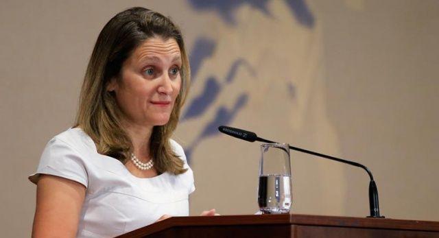 Kanada Dışişleri Bakanı Freeland: Kanada da ABD için önemlidir