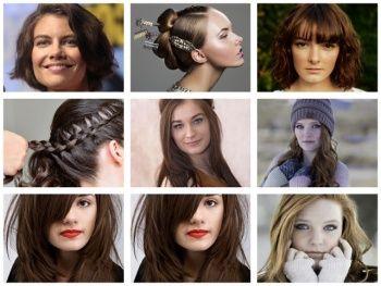 2018 - 2019 Saç Renkleri Bayan Saç Renkleri Kumral Kızıl Mor Tonları