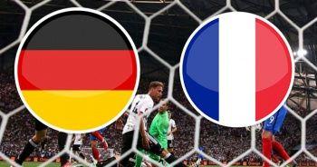 ÖZET İZLE: Almanya - Fransa Maçı özeti izle! Almanya - Fransa Maçı kaç kaç bitti?