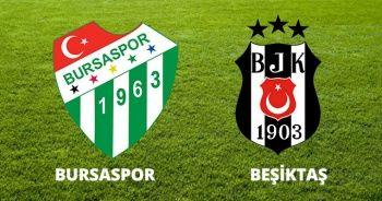 Bursaspor - Beşiktaş Maçı özeti ve golleri İZLE | Bursa Beşiktaş 1-1 Maçı Kaç Kaç Bitti Skoru