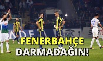 Çaykur Rizespor 3-0 Fenerbahçe Maçı Özeti Golleri İzle! Rize Fener Maçı Kaç Kaç bitti? Rize Fener Maç Özeti VİDEO