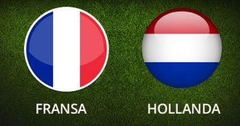 Fransa Hollanda Maçı Canlı şifresiz izle | Fransa Hollanda maçını Şifresiz Veren Yabancı Kanallar hangileri?