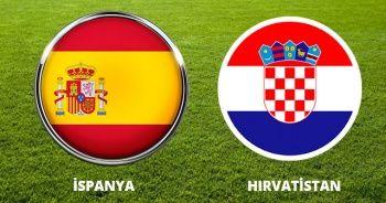 İspanya-Hırvatistan maçı AZ TV Canlı İZLE! İspanya Hırvatistan maçı Şifresiz Veren Kanallar hangileri?