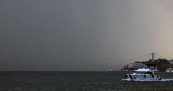 Meteoroloji'den peş peşe uyarılar! İstanbul'da beklenen yağış başladı!