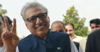Pakistan'ın yeni cumhurbaşkanı Arif Alvi