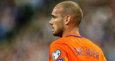 Wesley Sneijder milli takıma veda etti