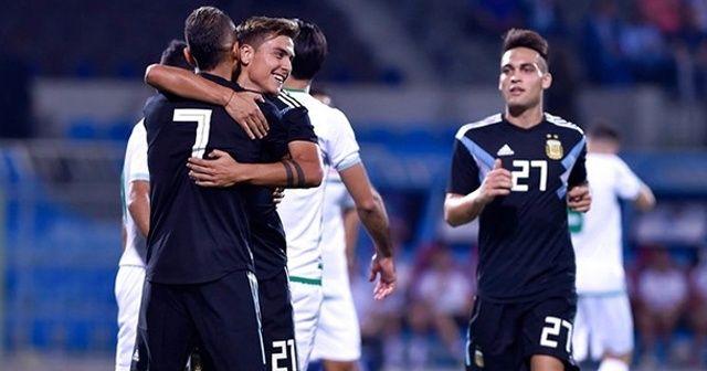 Arjantin, Irak'ı rahat geçti