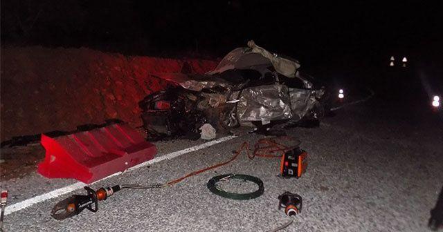 Aydın'daki feci kazada 3 genç hayatını kaybetti