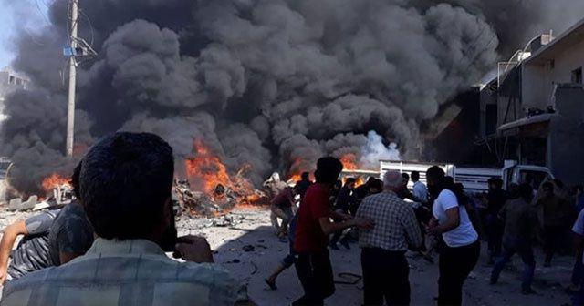 Azez'de patlama: 4 ölü