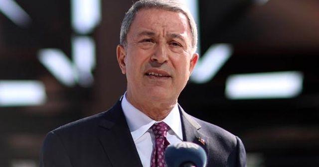 Milli Savunma Bakanı Akar: Terör bitmeden bu mücadelede asla durmak yok