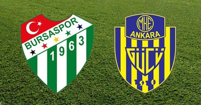 ÖZET İZLE: Bursa 1 - 0 Ankaragücü Maç Özeti ve Golleri İzle | Bursa Ankaragücü kaç kaç bitti?