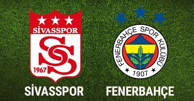 ÖZET İZLE: Sivasspor 0-0 Fenerbahçe MAÇI ÖZETİ İZLE! Kaç kaç Bitti? | SİVAS FB Maçı Özeti