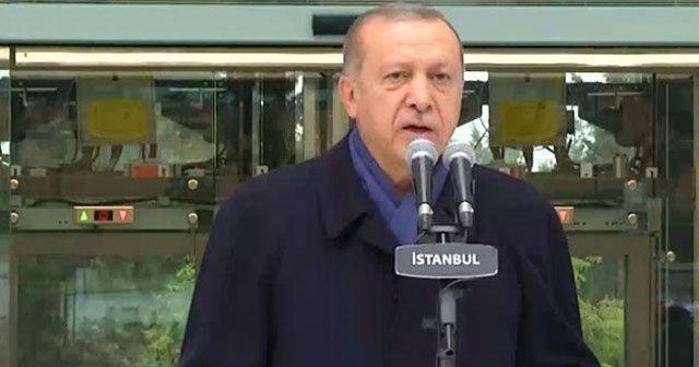Cumhurbaşkanı Erdoğan canlı yayında müjdeyi verdi