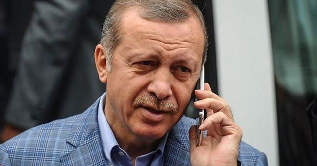 Cumhurbaşkanı Erdoğan Kanada Başbakanı ile telefonda görüştü