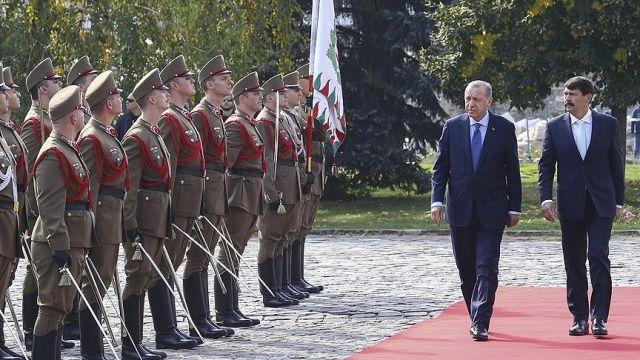 Cumhurbaşkanı Erdoğan Macaristan'da