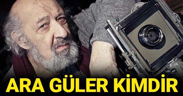 Duayen fotoğrafçı Ara Güler kimdir, kaç yaşında öldü? ARA GÜLER ödülleri ve başarıları!