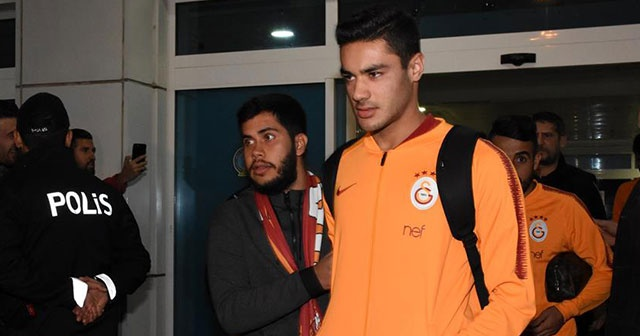 Galatasaray kafilesi Ankara'da