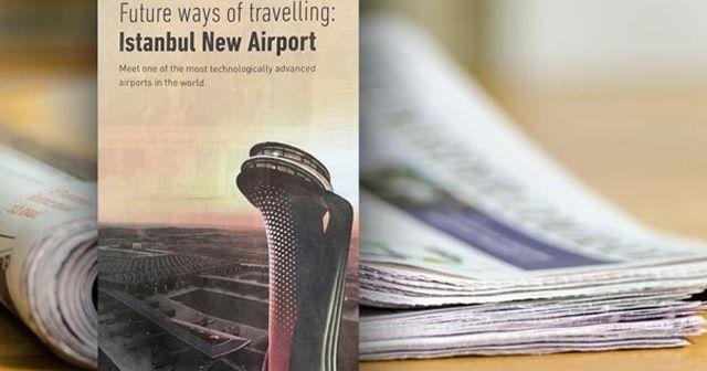 İstanbul Havalimanı için tam sayfa ilan!