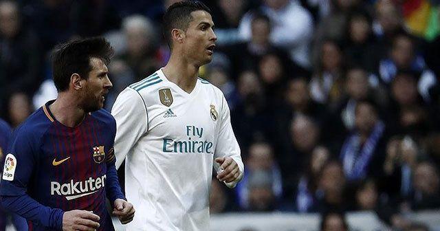 Messi ve Ronaldo'suz 'El Clasico' heyecanı