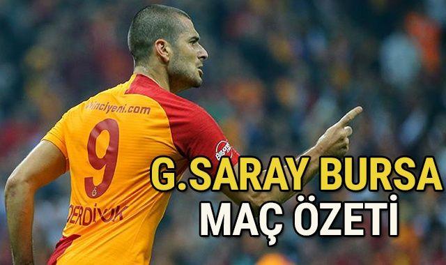 ÖZET İZLE: Galatasaray 1-1 Bursaspor MAÇI GENİŞ ÖZETİ Golleri İZLE! GS-BURSA kaç kaç bitti? GS Bursa ÖZET VİDEO