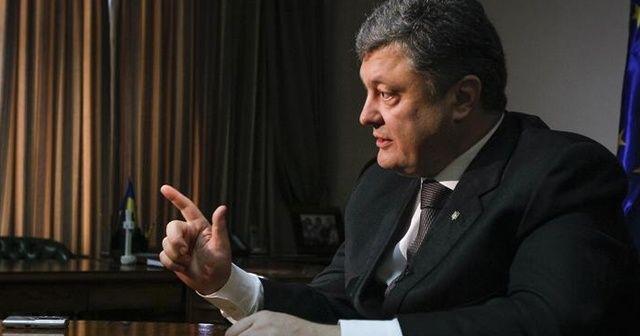 Poroşenko'dan 29 Ekim tebriği