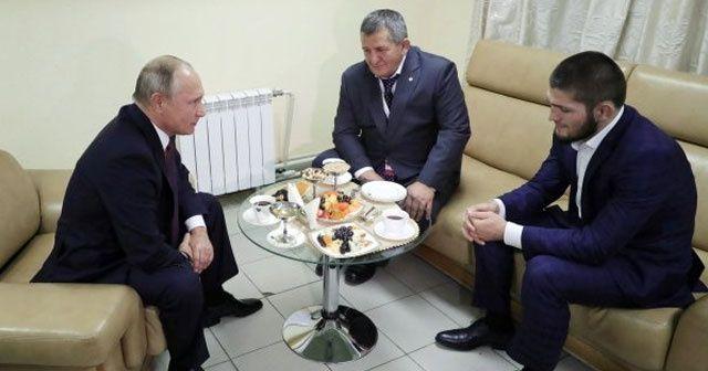 Putin, McGregor'u deviren Khabib Nurmagomedov'u kabul etti
