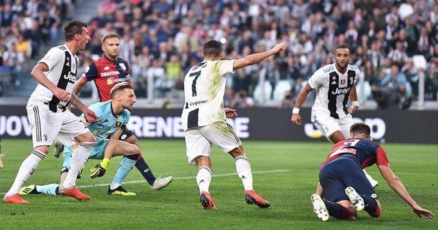Ronaldo'nun golü Juventus'a yetmedi