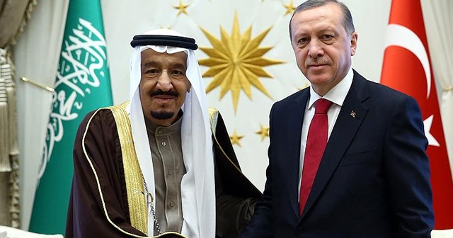 Suudi Kralı Selman, Cumhurbaşkanı Erdoğan'ı aradı