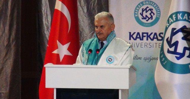 TBMM Başkanı Binali Yıldırım'dan Ermenistan'a sert çıkış