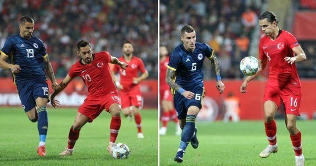 Türkiye-Bosna Hersek Maçı özeti İzle! Türkiye Bosna Hersek maçı kaç kaç bitti?