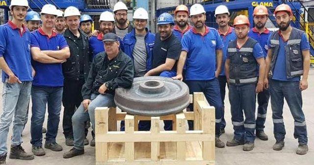 Türkiye'de ilk kez üretildi!