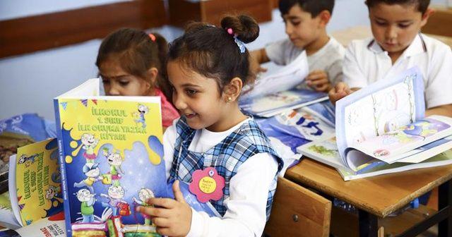 Ücretsiz 142 milyon ders kitabının tamamı okullara ulaştı