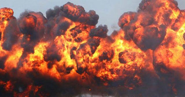 Ukrayna'da korkutan cephane patlaması!