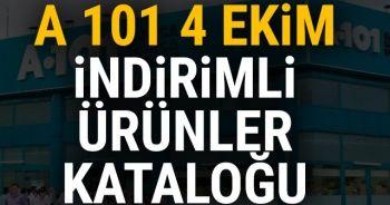 A 101 4 -11 Ekim İndirimli Aktüel Ürünler listesinde neler var? A101 market 4 EKİM İNDİRİM kataloğu