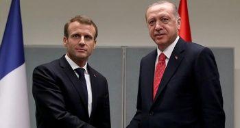 Erdoğan-Macron görüşmesi başladı