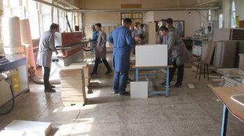 Öğrencilerin üretim yaptığı okul 1 milyon 150 bin lira gelir elde etti