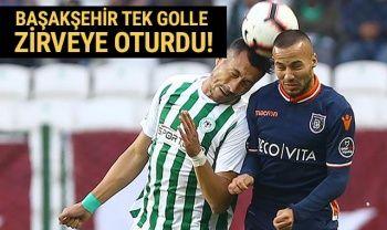 ÖZET İZLE Konyaspor 0-1 Başakşehir Maçı Geniş özeti golleri! Konya Başakşehir maçı kaç kaç bitti?