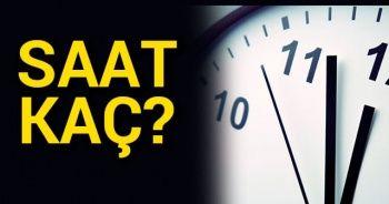 SAATLER GERİ Mİ ALINDI? ŞU AN saat kaç? Telefon ve Bilgisayar tarih ve saat güncelleme