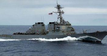 Tehlikeli gerginlik! ABD savaş gemisini engellediler