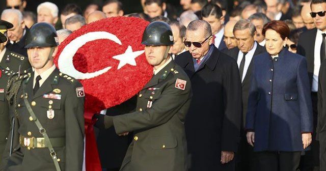'Türkiye Cumhuriyeti'ni dünyanın en güçlü devletlerinden yapma yolunda yürüyoruz'