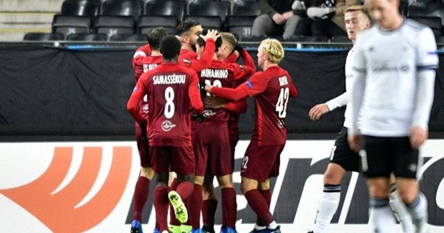 7 gollü maçta kazanan Salzburg