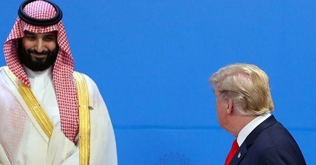 ABD Başkanı Trump ile Suudi Veliaht Prens Selman görüştü