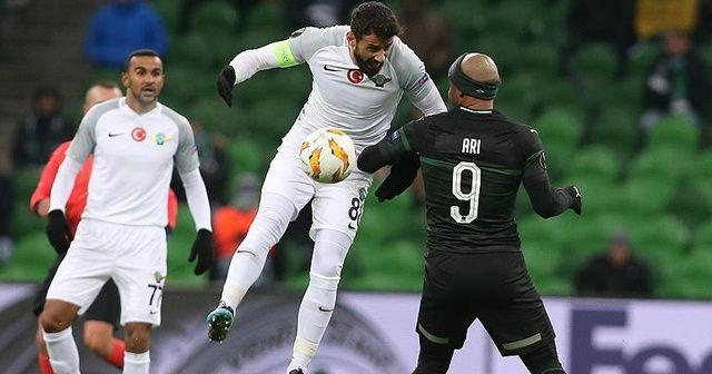UEFA Avrupa Ligi: Akhisarspor UEFA Avrupa Ligi'nde Mağlup