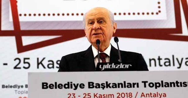 Bahçeli'den önemli açıklamalar: İstanbul, Ankara, İzmir...
