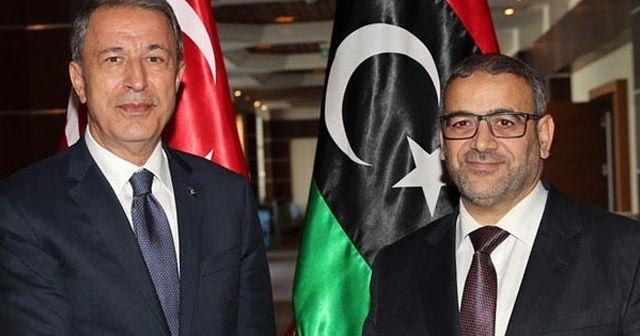 Bakan Akar'dan Libya'da önemli görüşme