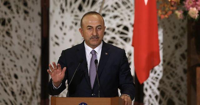 Bakan Çavuşoğlu, Afganistan Dışişleri Bakanı ile görüştü