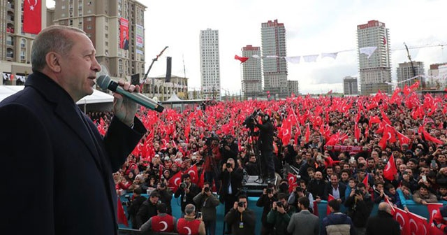 Cumhurbaşkanı Erdoğan: 31 Mart seçimlerini 'Gönül Belediyeciliği' seçimi olarak görüyoruz